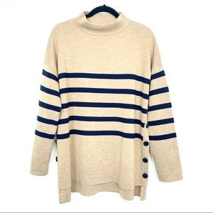 Basler Sweater Oversized striped Large XL Pullover